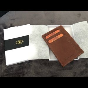 Cuoieria Forentina Italian minimalist wallet
